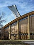 奥林匹克体育场帆柱 免版税库存照片