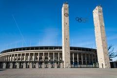 奥林匹克体育场,柏林德国 免版税图库摄影