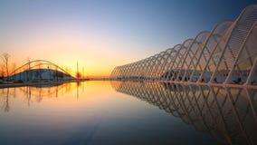 奥林匹克体育复合体,雅典。 库存图片