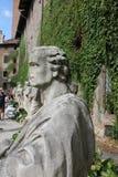 奥林匹克剧院,威岑扎,意大利雕塑  免版税库存照片