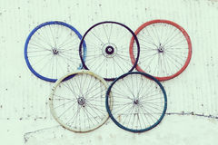 奥林匹克圈子 库存图片