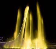 奥林匹克圣火的碗在索契 库存照片