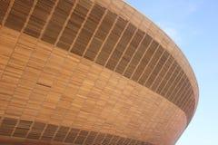 奥林匹克室内自行车赛场 库存图片
