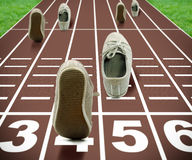 奥林匹克概念的比赛 免版税库存图片
