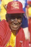 奥林匹克的前辈的一个非洲裔美国人的公民 库存图片