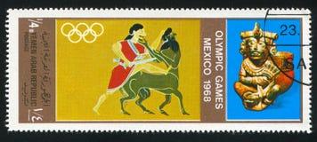 奥林匹克的比赛 免版税库存照片