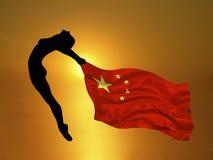 奥林匹克的运动员 皇族释放例证