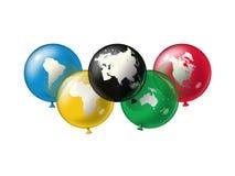 奥林匹克符号 免版税库存图片