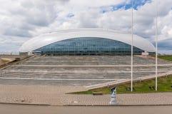 奥林匹克设施大厦在奥林匹克公园在索契,俄罗斯 图库摄影