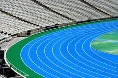 奥林匹克连续跟踪 库存图片