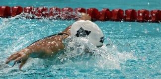 奥林匹克,世界和欧洲冠军,世界纪录持有人游泳者Katinka HOSSZU匈奴 库存图片