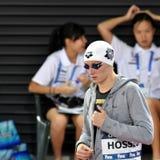 奥林匹克,世界和欧洲冠军,世界纪录持有人游泳者Katinka HOSSZU匈奴 图库摄影