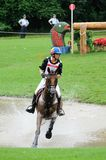 奥林匹克2008个骑马的活动 免版税库存图片