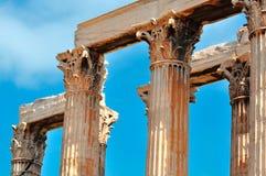 奥林山宙斯寺庙  免版税库存图片