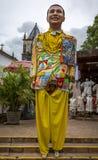 奥林达的狂欢节服装 免版税库存照片