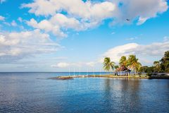 奥梅特佩岛在尼加拉瓜 库存图片