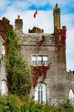 奥法利郡,爱尔兰- 2017年8月23日:比尔城堡在奥法利郡,爱尔兰 库存照片