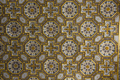 奥特朗托大教堂:细节天花板装饰 免版税图库摄影