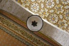 奥特朗托大教堂:细节天花板装饰 库存图片