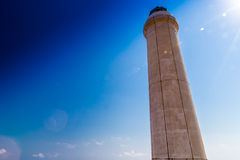 奥特朗托海角灯塔在意大利 图库摄影