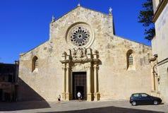 奥特朗托,意大利大教堂  库存照片
