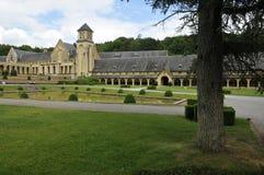 奥瓦尔修道院教会 免版税库存图片