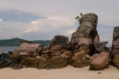 奥秘岩石 库存图片