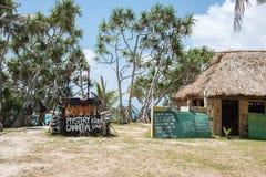 奥秘海岛食人者汤 免版税库存照片