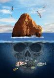 奥秘海岛 图库摄影