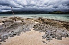 奥秘海岛 免版税库存图片