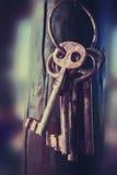 奥秘钥匙 库存图片
