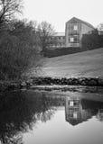 奥胡斯大学,丹麦 库存照片