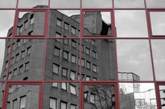 奥菲大厦反射摘要1 免版税图库摄影