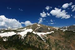 奥蒂斯峰顶在洛矶山国家公园 免版税库存照片