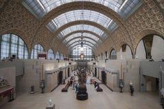 奥赛博物馆,巴黎,法国 免版税库存照片