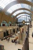 奥赛博物馆-巴黎 图库摄影