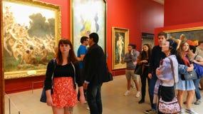 奥赛博物馆(d'Orsay的Musee) 图库摄影