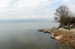 奥赫里德湖马其顿 库存图片