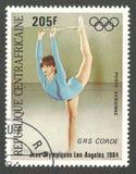 奥运会洛杉矶,女孩 免版税库存图片