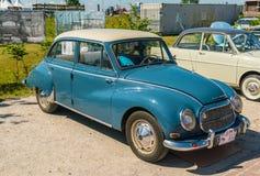 奥迪DKW 1000 S老朋友每年全国老朋友天在莱利斯塔德 库存照片
