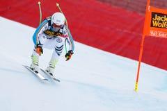奥迪FIS高山滑雪的世界杯-人的下坡R Ferstl约瑟夫 免版税库存图片