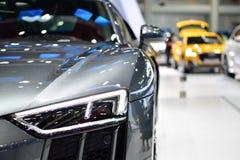 奥迪R8在泰国国际马达商展的小轿车汽车 免版税库存图片