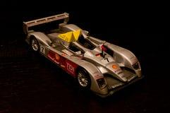 奥迪R10 TDI死塑象模型 库存照片