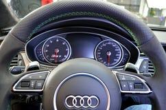 奥迪RS3 免版税图库摄影