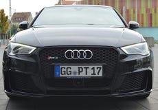 奥迪RS3 - AG内卡尔苏尔姆奥迪 库存图片