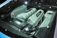 奥迪v10 FSI引擎 库存照片