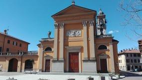 奥里焦教会 库存照片