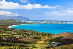 奥阿胡岛海岛 免版税图库摄影