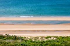 奥马哈海滩,圣徒劳伦特苏尔梅尔,诺曼底,法国 库存图片