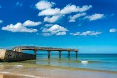 奥马哈海滩 免版税图库摄影